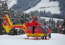 Mountain Rescue Helicopter, Auffach