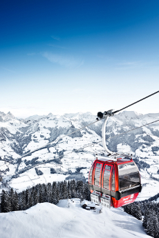 Hahnenkamm Cable Car Kitzbuhel
