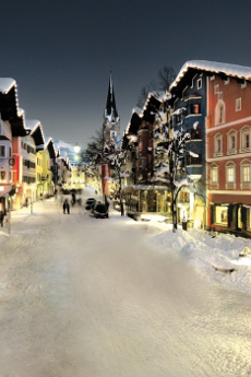 Kitzbuhel Ski Resort Old Town