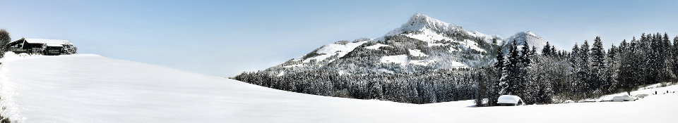 Skiiing in Kitzbuhel ski resort, Austria