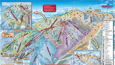Park City ski trail and piste map