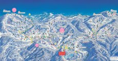 Shiga Kogen Ski Resort, Japan, Piste Map