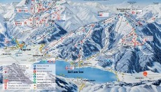 Zell am See Piste Map