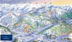 Perisher Ski Resort Piste Map