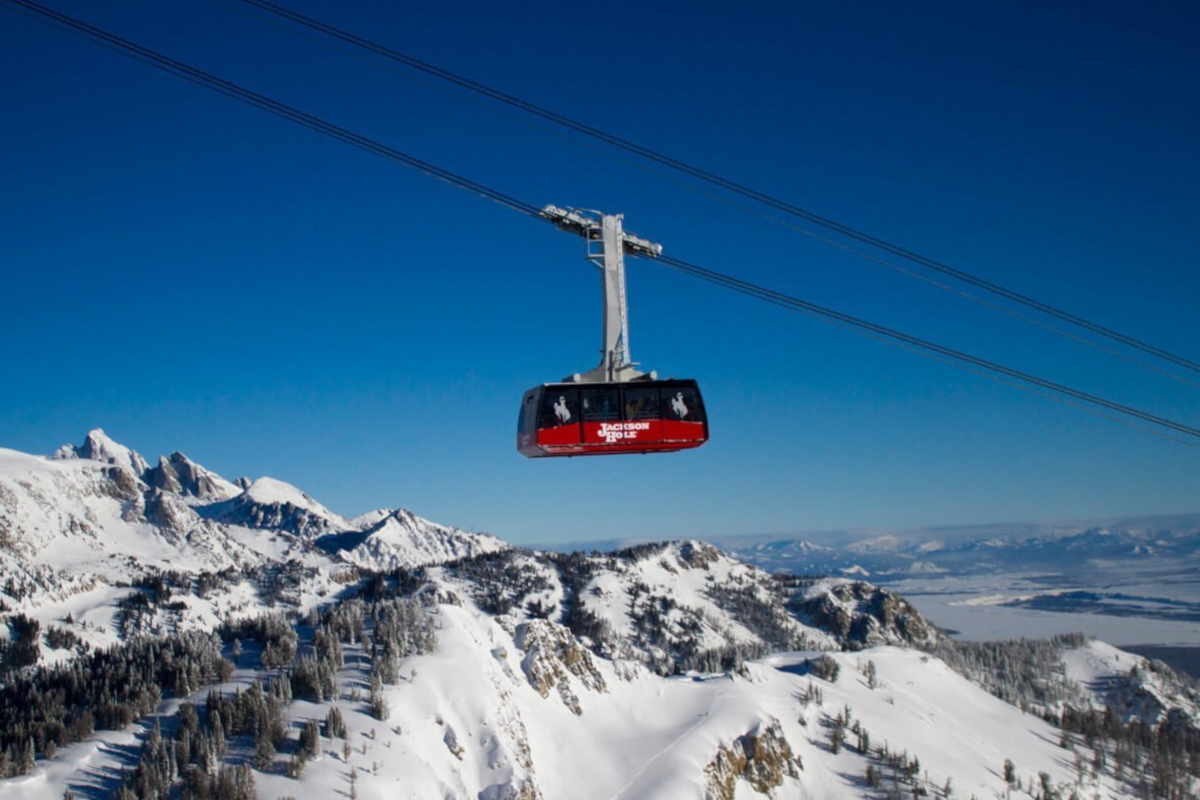 Jackson Hole; one of the best ski resorts in the USA