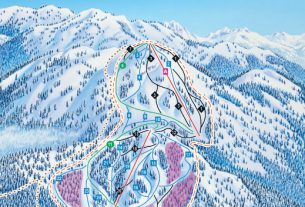 Mount Seymour, Canada Piste Map