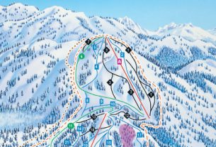 Mount Seymour Piste Map, Canada