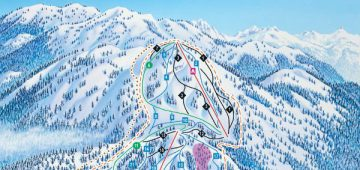 Mount Seymour, Canada Piste Map