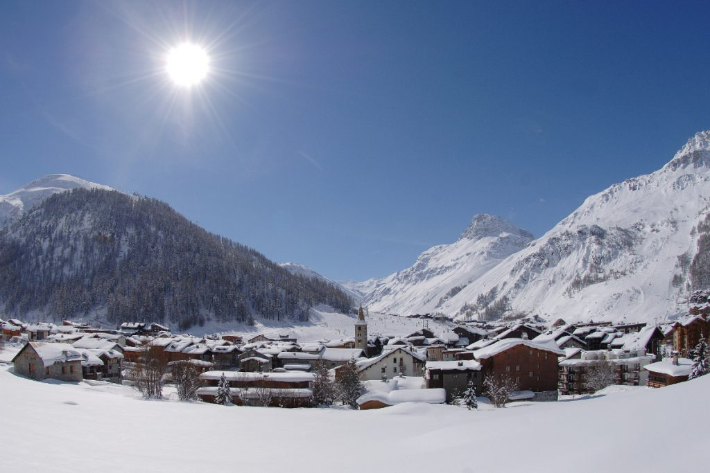 Val d'Isere Ski Resort, France, one of the Best Ski Resorts in the Alps