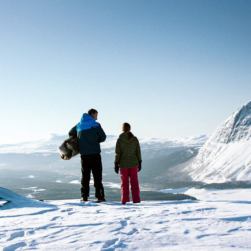 Borgafjallen ski resort in Sweden