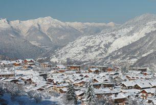 Courchevel 1650 Ski Resort, The Three Valleys, France