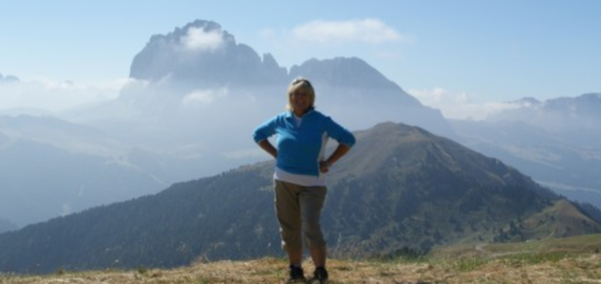Trekking in the Dolomites, Italy in the Summer with Paula