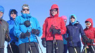 Ischgl Ski Touring Group, Heidelburger Hutte, Austria