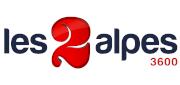 Les Deux Alpes Ski Resort - logo