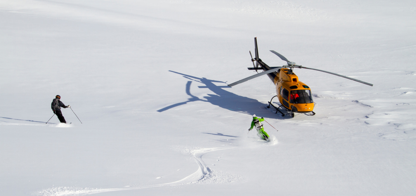 Riksgransen Heli-skiing, Norway