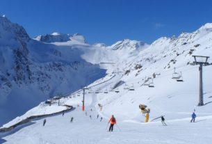 Soelden Ski Resort in October, Austria